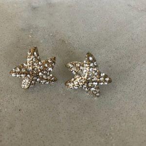 J.Crew Rhinestone Starfish
